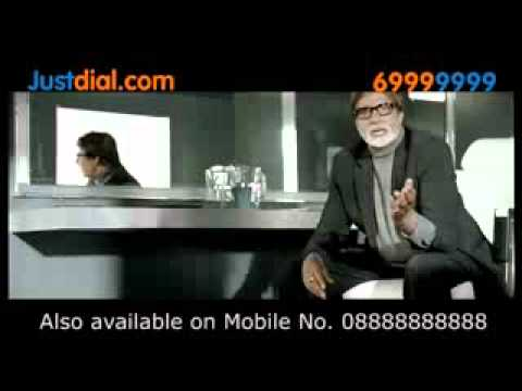 Amitabh Bachchan in 'Justdial.com' Ad - Bollywood Hungama Exclusive Advertisement