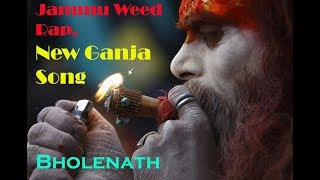 JAMMU WEED RAP | SANKI RAPPER | OFFICIAL BHAGAT | LYRIC VIDEO | HINDI RAP |