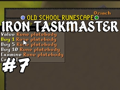 Old School RuneScape Ironman #7 - Road To Barrows Gloves
