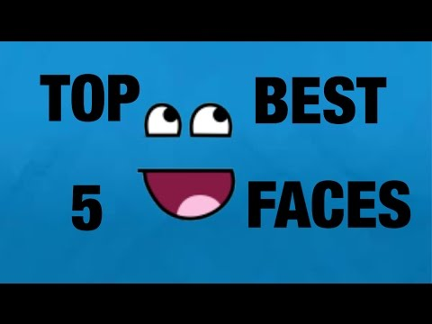 Roblox TOP 5 BEST FACES