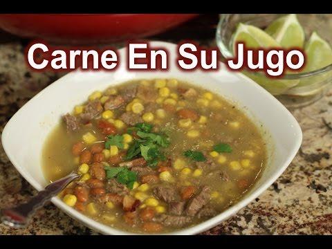 How To Make Carne En Su Jugo Recipe   Mexican Soup   Mexican Food   Rockin Robin Cooks