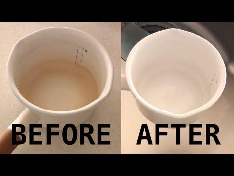 How to Clean Stains Off Enamel Pots ホーロー鍋の汚れの落とし方 - OCHIKERON - CREATE EAT HAPPY