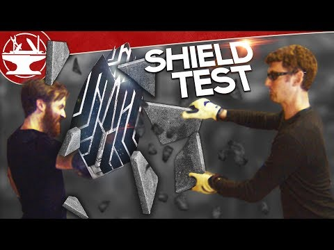 Captain America's Shield TEST (INFINITY WAR)