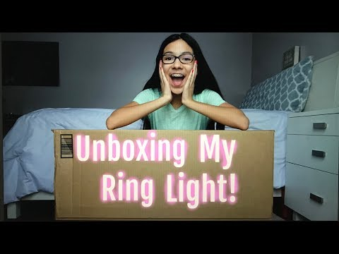 Unboxing My Ring Light!