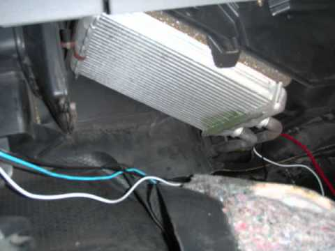 HOW TO: GM Truck Heater Core