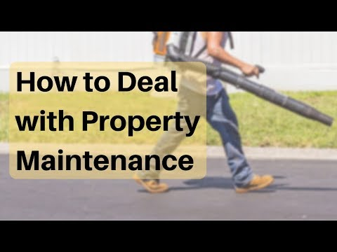 How to Deal with Property Maintenance – Burlingame Property Management