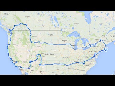 USA & Canada Solo Road Trip 2015