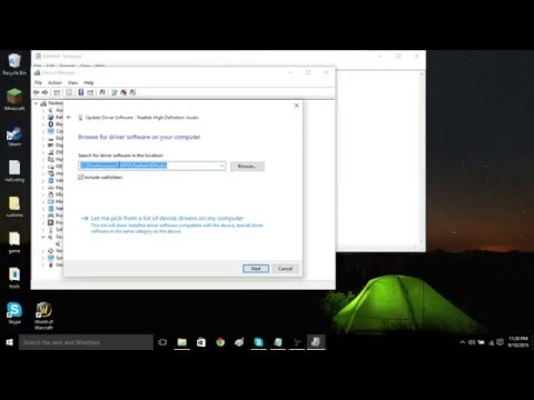 How to Reinstall your Audio Drivers (WINDOWS 10)