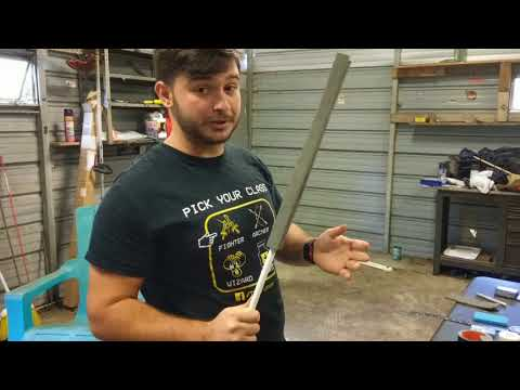How to Build a LARP Sword!