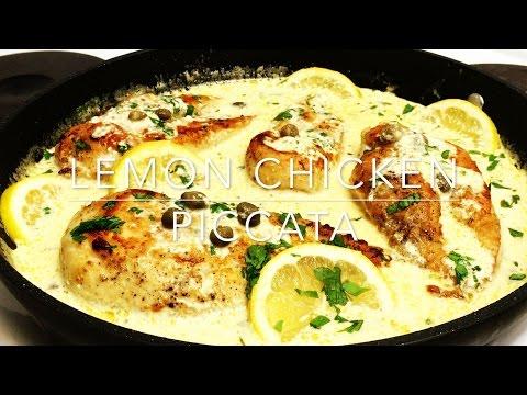 How to make Lemon Chicken Piccata   Easy Lemon Chicken Piccata Recipe