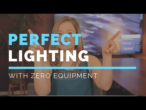 How To Create Perfect Lighting With No Equipment
