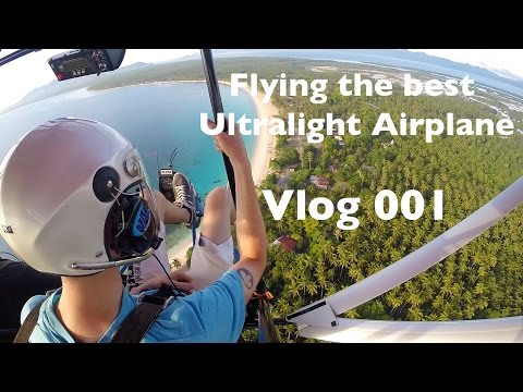 Flying the best ultralight airplane in MATI Philippines: VLOG 001