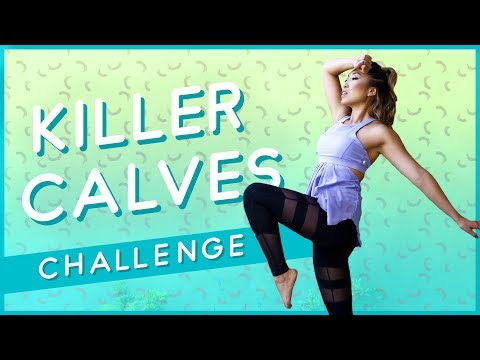 Killer Calves Workout ☀ Summer Song Challenge #3 ☀
