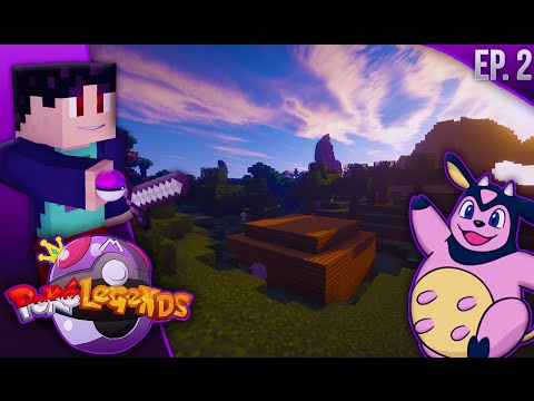 Minecraft: PokeLegends SMP - Episode 2 - LEGENDARY HAS SPAWNED!? (Pixelmon 3.4 Survival Let's Play)