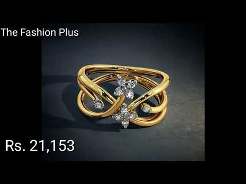 Gold Rings Designs With Price  By BlueStone