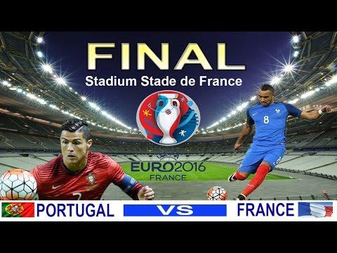 UEFA EURO 2016 FINAL PORTUGAL VS FRANCE - Banner Photoshop
