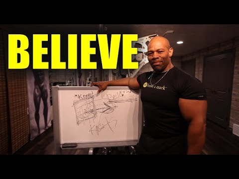 You have to BELIEVE You Can CHANGE!          [Bodybuilding Motivation]