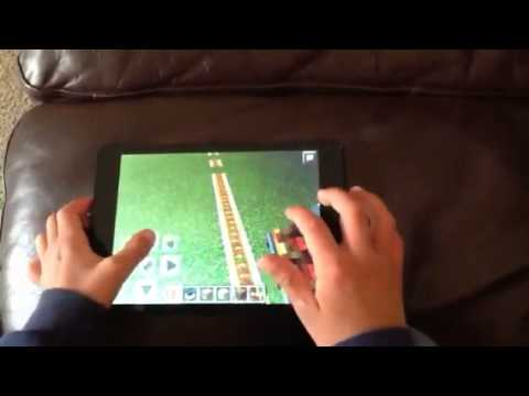 How to make a perfect train in Minecraft pe