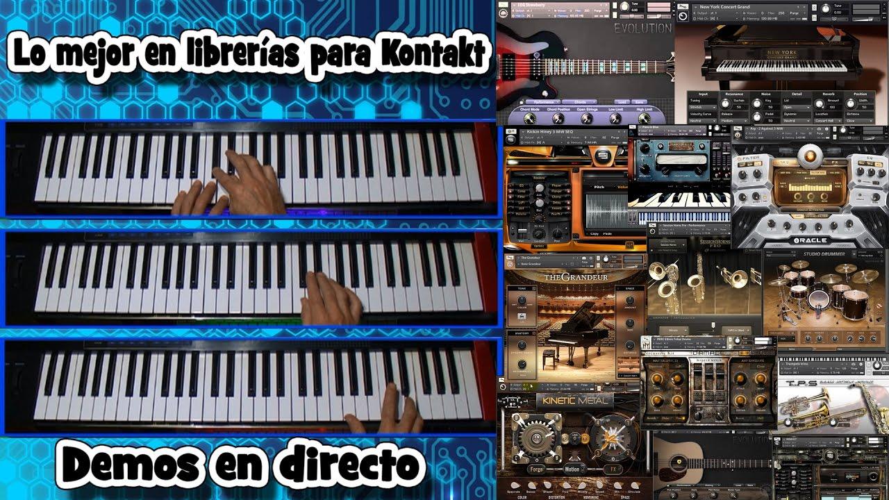 Las mejores librerías para Kontakt-Audio-Demo- 1ª, Orchestral.Lee la descripción