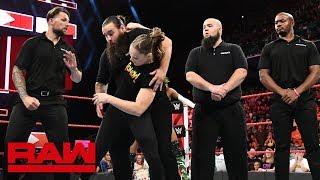 Ronda Rousey destroys Alexa Bliss