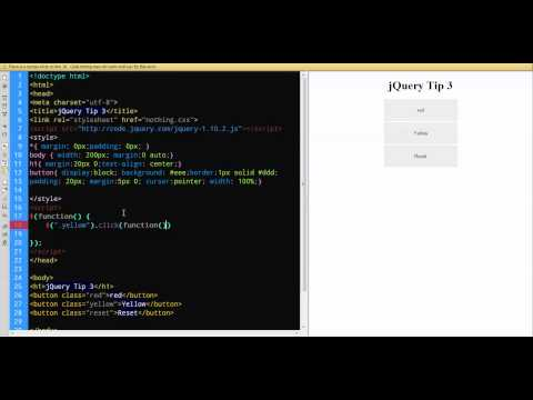 jQuery Tip 3 Style Sheet Switcher