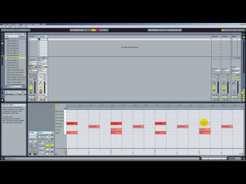 Ableton Live 8 - Basic Drum Track