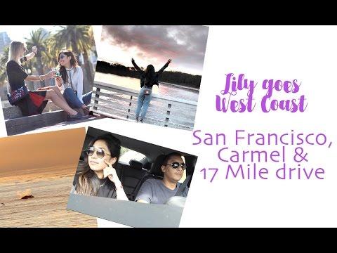 San Francisco, Carmel, 17 Mile drive & Hearst castle - OMG, accidentally spotting whales!!