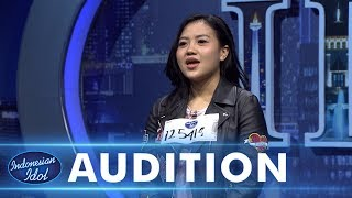 Judika jadi penyanyi latarnya Irine Septiani! - AUDITION 1 - Indonesian Idol 2018