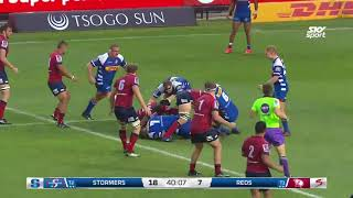 ROUND 6 HIGHLIGHTS: Stormers v Reds - 2018