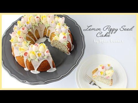 Lemon Poppy Seed Cake   Renee Conner