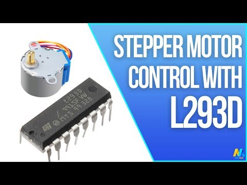 Arduino Tutorial - Stepper Motor Control with L293D Motor Driver