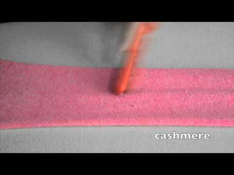 Lilly Brush removes pilling on cashmere, wool & cotton