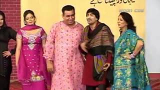 Best of Nasir Chinyuti and Sajan Abbas Stage Drama Full Comedy Clip