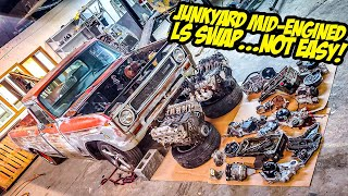 """Here's What NO ONE Tells You About Doing A """"Cheap"""" Junkyard LS Swap (NOT EASY)"""