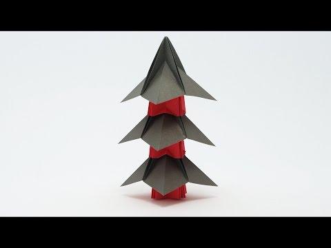 Origami Japanese Pagoda (Jo Nakashima)