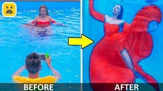 12 AMAZING PHOTO IDEAS! Funny and Creative Photo DIY Life hacks
