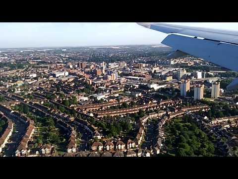Landing at London Luton Airport 17.07.17