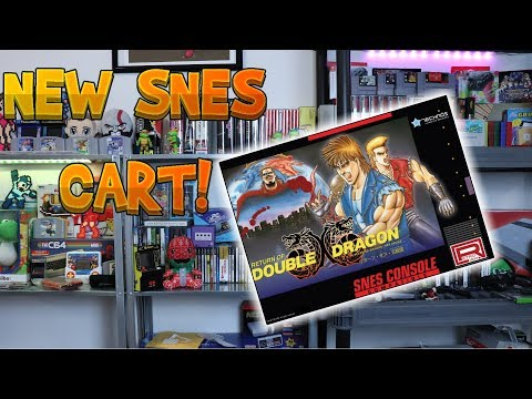 NEW SNES Game Being Released - Return Of Double Dragon!