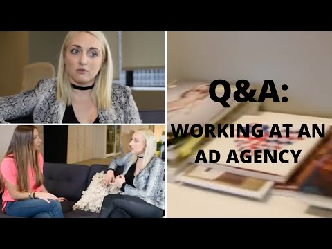 What does it mean to work at an Advertising Agency?