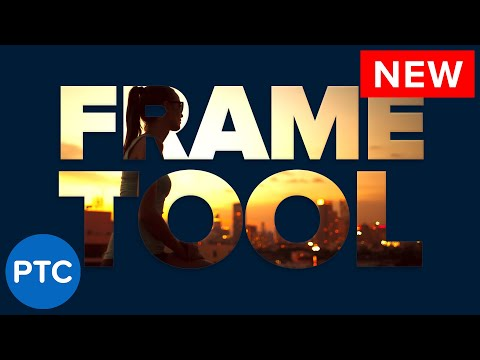 How To Use The FRAME TOOL in Photoshop CC 2019 - Placeholder Images