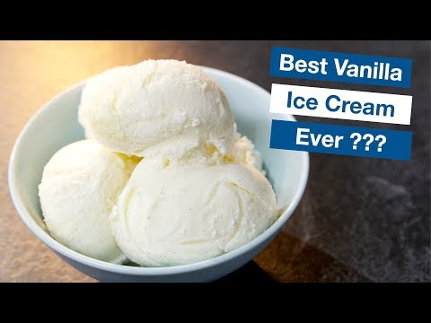 Vanilla Custard Ice Cream || Le Gourmet TV Recipes