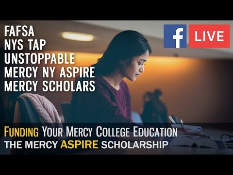 The Mercy College  ASPIRE Scholarship