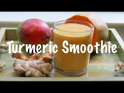 Detox Turmeric Mango Smoothie | The Frugal Chef