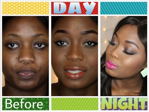 DAY TO NIGHT LOOK| LET'S TURN UP!