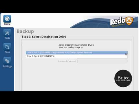 Redo Backup and Recovery Live CD Data Backup and Hard Disk Clone CD by Britec