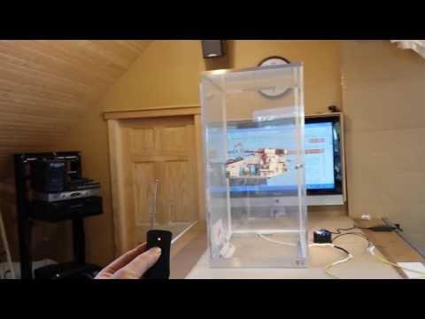 Smart plexiglass box by Smart Tint