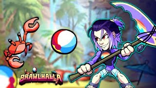 Huge Summer Update!!!   1v1s With New Skins!! • Brawlhalla Gameplay