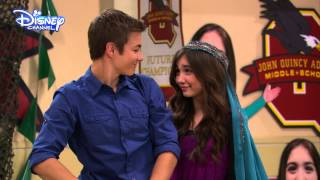 Girl Meets World - Riley and Lucas Totes Cute Moment - Disney Channel UK HD