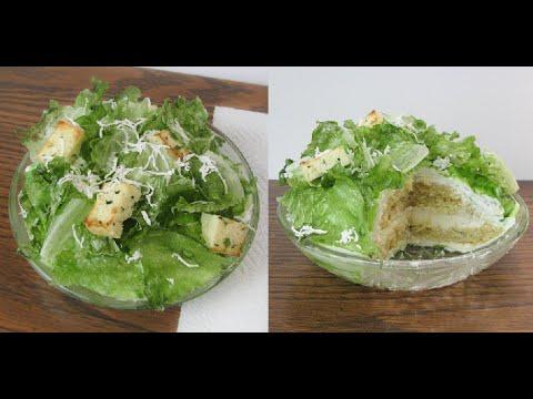 Realistic Salad Cake Tutorial