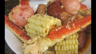 Easy Crab Boil Stovetop
